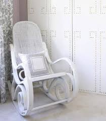 Small White Bedroom Chairs Natural Themed Interior With Wicker Bedroom Furniture