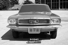 64 Mustang Black See How The Mustang U0027s Pony Badge Has Evolved Over The Last Five