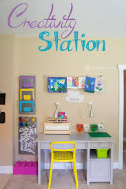 kids homework station creativity station art homework and lego table jamonkey
