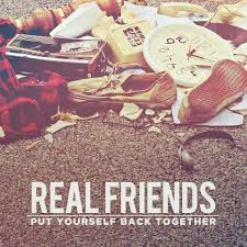 friends photo album real friends put yourself back together album