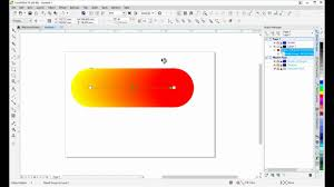 corel draw x4 blend tool how to use blend tool on objects fonts in coreldraw youtube