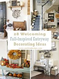 Entryway Decorating Ideas Pictures 28 Welcoming Fall Inspired Entryway Decorating Ideas