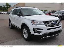 Ford Explorer Xlt - 2016 oxford white ford explorer xlt 106071796 gtcarlot com