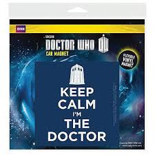 buy doctor who keep calm i m the doctor car magnet in wholesale