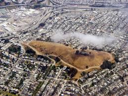 San Francisco Walking Map by Bernal Heights Park Homicide Victim Id U0027d By J Lamb May 26