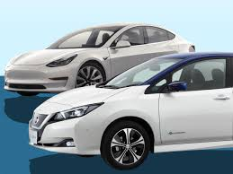 nissan leaf youtube review nissan leaf 2018 vs tesla model 3 the weigh in stuff
