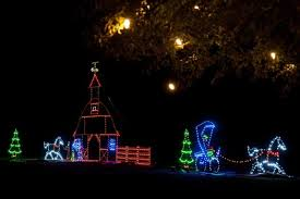 Santee Christmas Lights Old Santee Canal Park Berkeley County