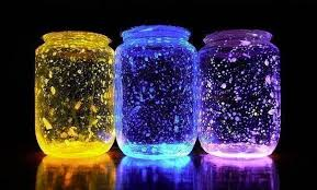 today we show you how to use glow sticks to make these out of