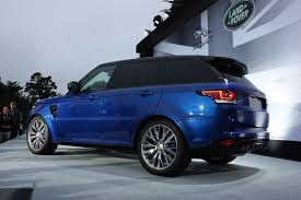 matte blue range rover 2016 range rover sport svr luxury things