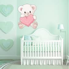 stickers nounours pour chambre bébé stickers ourson pas cher stickers folies