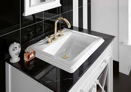 traditional bathroom ceramic marble wooden hommage