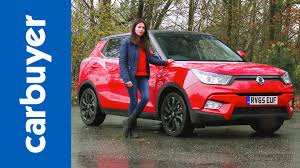 ssangyong ssangyong tivoli suv review carbuyer youtube