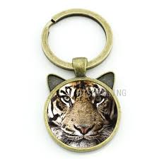 vintage animal ring holder images Brand charm tiger keychain design vintage tiger wild animal jpg