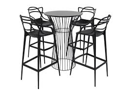 Masters Bar Table Bar Table Hire Piper Bar Table In Black Powdercoat Base With