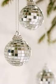 stuffers disco silver ornament from cb2 1 95