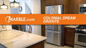 colonial cream granite countertops ii youtube
