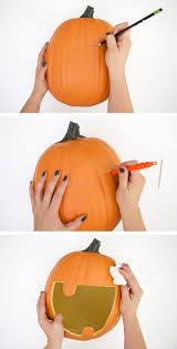 diy pumpkin candy bowl u0026 diy halloween candy banner persia lou