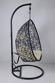 Cocoon Swing Chair Cocoon Hanging Chair And Cushion Amazon Co Uk Garden U0026 Outdoors