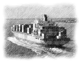 pencil sketch of container ship in charleston bay love u0027s photo album