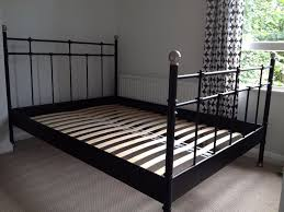 Metal Bed Frame Ikea King Bed Frame On And Bed Frames Ikea Black Metal Bed