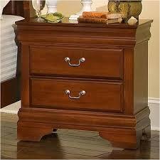 Bassett Nightstand Bb43 226 Vaughan Bassett Furniture Nightstand Cherry