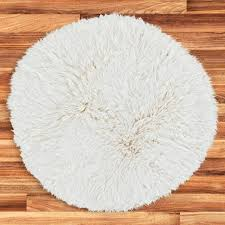 Round Natural Rug by Buy Natural Flokati Rug 2800g M2 150cm Round Online The Real Rug