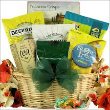 healthy gift baskets for good health and dietary restrictions