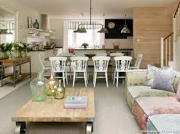 cuisine salon salle à manger separation salon salle a manger maison design bahbe com