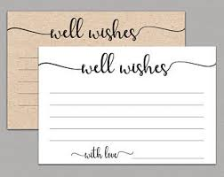 wedding well wishes cards wedding well wishes etsy