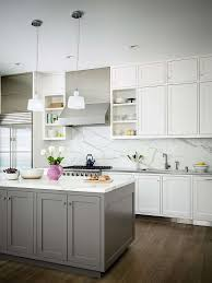 kitchen backsplash white modern style contemporary cabinet with