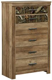 standard furniture habitat 5 drawer chest with camouflage print
