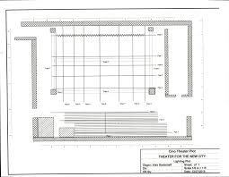 theater floor plan theater for the new city the cino theater
