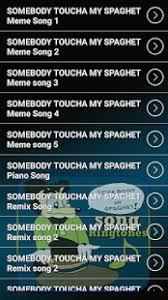 Meme Ringtones - somebody toucha my spaghet song ringtones android apps on google
