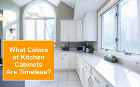 colors for kitchen cabinets what colors of kitchen cabinets are actually timeless