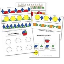pattern blocks math activities great free printable for pattern blocks not just for little kids