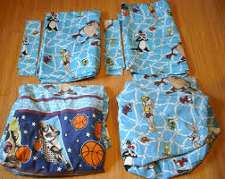 Space Bedding Twin Vintage Space Jam Bedding Set Twin Size Fitted Flat Sheets