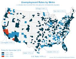 Map Metro Chicago by Chicago Metro Unemployment Rate Decreases To 5 4 In December 2016
