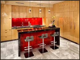 amazing red kitchen ideas black and red kitchen designs for well