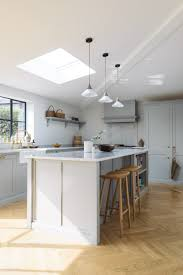 A beautifully serene Shaker Kitchen by deVOL