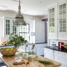White Kitchen Cabinets With Granite Countertops Rustic White Kitchens Design Ideas