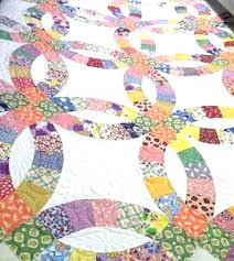 wedding ring quilt for sale wedding ring quilt was shared by minnie while it was still