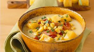 cuisine polenta vegetable soup corn soup recipe