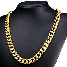 big gold necklace men images Cheap gold chains for men elkar club jpg