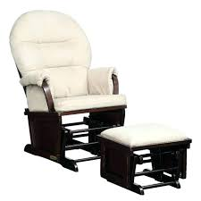 rocker recliner chair with ottoman x 21 w storage leather 26491