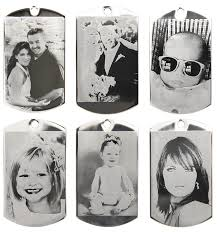 photo engraved dog tags custom made heart etching dog tag pendant ebay