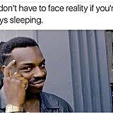 Go Sleep Meme - tough day just go to sleep what is the roll safe thinking meme