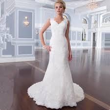 online get cheap plus size white dresses mermaid style aliexpress