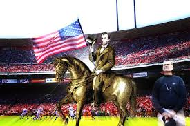 Horse With American Flag Abraham Lincoln Gif U0027d Up For Jim Harbaugh Niners Nation