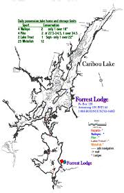 Armstrong Map Ontario Fishing Moose Hunting Drive To Forrest Lodge