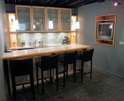 Dry Bar Furniture Ideas by Bar Painted Open Diy Liquor Cabinet With Hanging Glass Rack And
